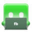 facebookdl large png icon