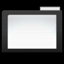 Dark Folder png icon