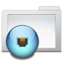 Folder Network Png Icon