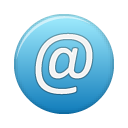 address blue Png Icon