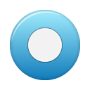 button blue rec Png Icon