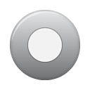 button grey rec Png Icon