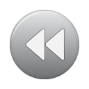 button grey rew Png Icon