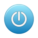 power blue Png Icon
