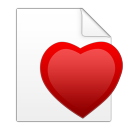 fichiercoeur Png Icon