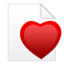 fichiercoeur large png icon