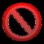 interdit large png icon
