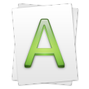 font Png Icon