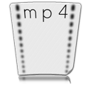 file mp 4 Png Icon
