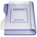 Purple desktop Png Icon