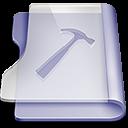 Purple developer large png icon