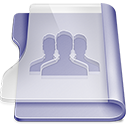 Purple group Png Icon