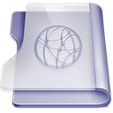 Purple idisk Png Icon