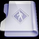 Purple public Png Icon