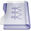 Purple sharepoint Png Icon