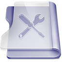 Purple utilities large png icon
