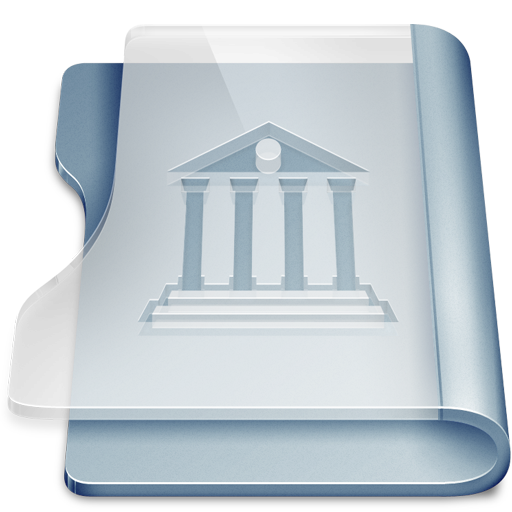 Graphite library large png icon
