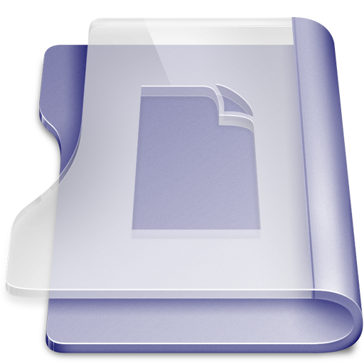 Purple doc large png icon