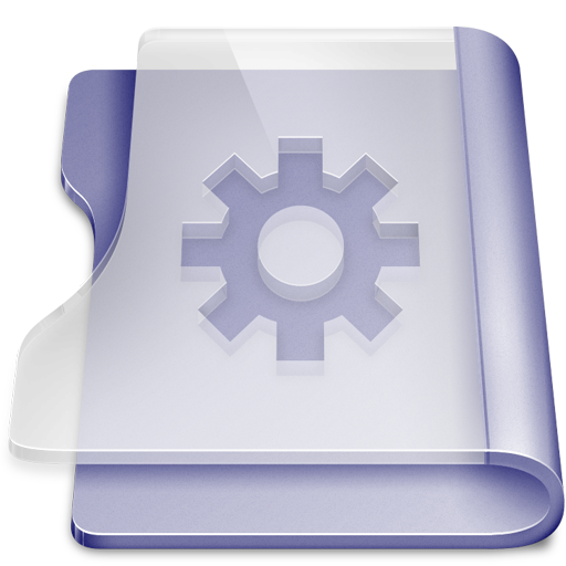 Purple smart large png icon