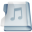 Graphite music large png icon