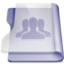 Purple group large png icon