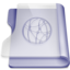 Purple idisk large png icon