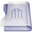 Purple library large png icon
