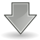 down Png Icon