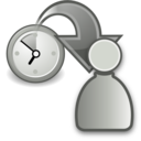 move waiting to participant grey Png Icon