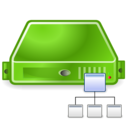 server directory green Png Icon