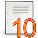 ten Png Icon