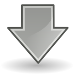 down large png icon