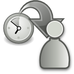 move waiting to participant grey large png icon