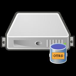 server database otrs