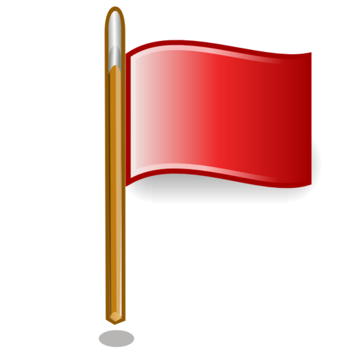 red large png icon