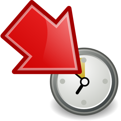 move participant to waiting red large png icon