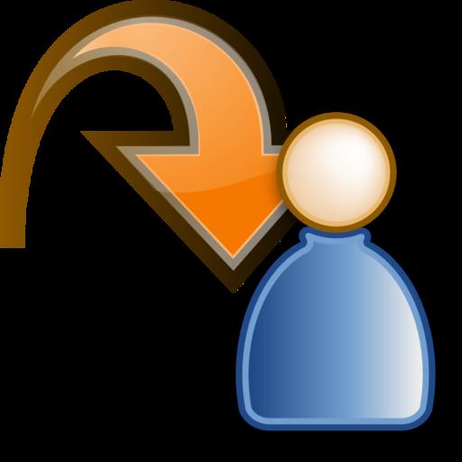 orange large png icon