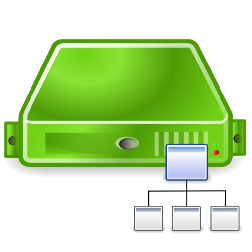 server directory green large png icon