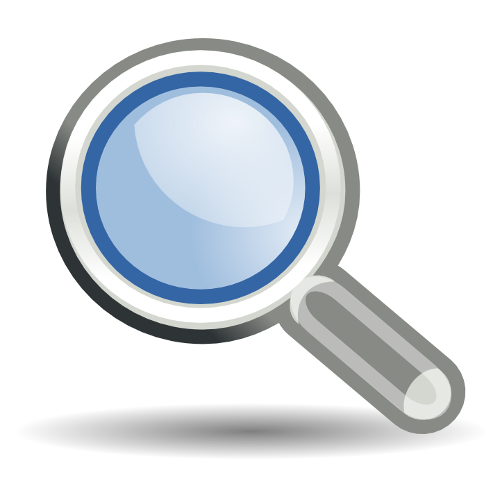 magnifying large png icon