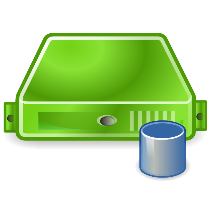 server database green large png icon