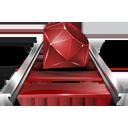 rubyonrails Png Icon