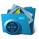 Mp 3 folder Png Icon