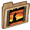 moviefoldericon Png Icon
