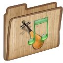 musicfoldericon Png Icon