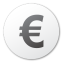 currency euro Png Icon