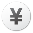 currency yuan Png Icon