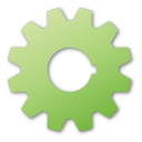 gear green png icon