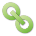 hyperlink green png icon