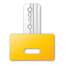 key yellow png icon