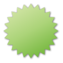 label green Png Icon